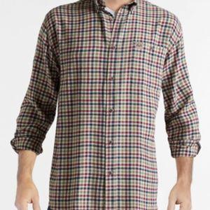 NWT - Realtree Men's Red Plaid Flannel Shirt